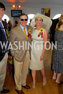 Jim Free,Ann Free,Preakness 2011,May 21,2011,Kyle Samperton