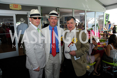 Arturo Sarukhan,Jeff Pellegrino,Ronald Gordon,Preakness 2011,May 21,2011,Kyle Samperton