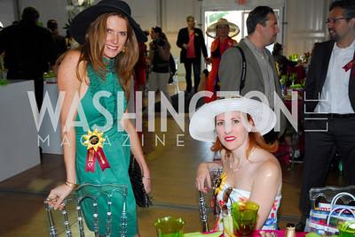 Diana Moss,Adrianna Elwood,Preakness 2011,May 21,2011,Kyle Samperton
