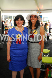 Cecilia Valdivieso,Veronica Valdivieso,Preakness 2011,May 21,2011,Kyle Samperton