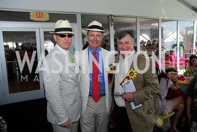 Arturo Sarukhan,Jeff Pellegrino,Ronalgd Gordon,Preakness 2011,May 21,2011,Kyle Samperton