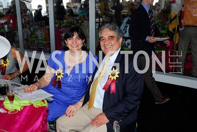Cecilia Valdivieso,Luis Valdivieso,Preakness 2011,May 21,2011,Kyle Samperton
