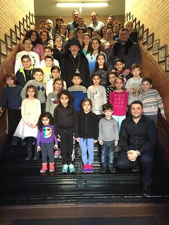 Primate Visits Brooklyn Parish School, March 6, 2016