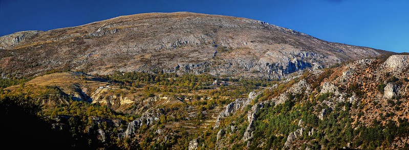 Panorama of Mont Cheiron