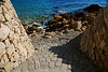 Beach Stone Steps