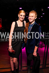 Kerry O'Donnell, Daniel Townsend. Put on the Gloves Fashion Event for the Trevor Project. Photo by Tony Powell. Town. January 27, 2011