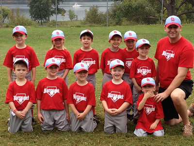 Quinn's Fall Baseball - Cardinals