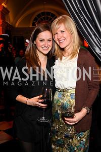 Devora Kaye, Jennifer Stuhr. Ron Reagan Book Party. Photo by Tony Powell. Jefferson Hotel. January 24, 2011