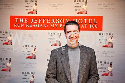 Ron Reagan. Ron Reagan Book Party. Photo by Tony Powell. Jefferson Hotel. January 24, 2011