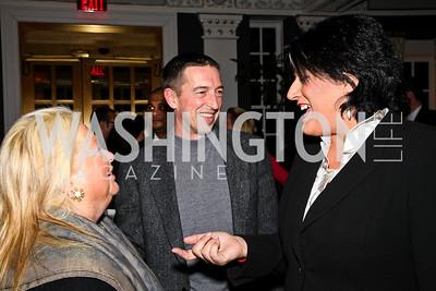 Constance Millstein, Ron Reagan, Tammy Haddad. Ron Reagan Book Party. Photo by Tony Powell. Jefferson Hotel. January 24, 2011