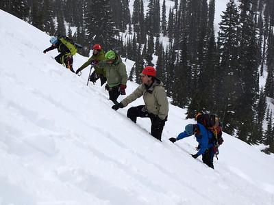 Snow 1 on Rainier - March 2014