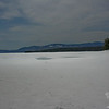 Frozen Mooselookmeguntic Lake.