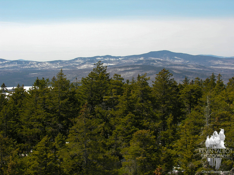 View to Mount Aziscohos from Bald Mountain.