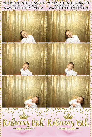 Rebeccas Quinceanera- Photo Booth Pictures