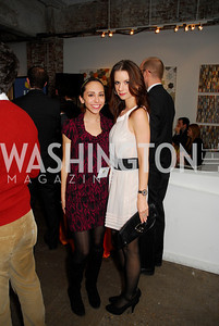 Laura Nackman,Dasa Vilimkova,November 17,2011,Reception for Lift DC,Kyle Samperton