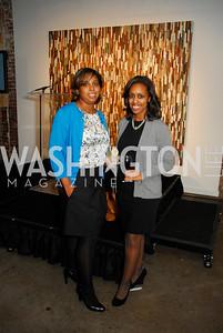 Anissa Holmes,Mahlet Goiton,November 17,2011,Reception for Lift DC,Kyle Samperton
