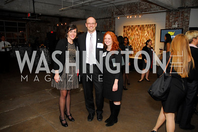 Britanny Walsh, Tony Brunswick,Heather Decker,November 17,2011,Reception for Lift DC,Kyle Samperton