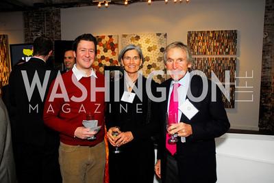 Jeff Himmelman,Cindy Doyle,Robert Doyle,November 17,2011,Reception for Lift DC,Kyle Samperton