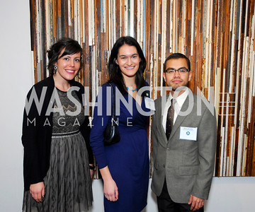 Britanny Walsh,Liz Copeland,BrIan M oroquin,November 17,2011,Reception for Lift DC,Kyle Samperton