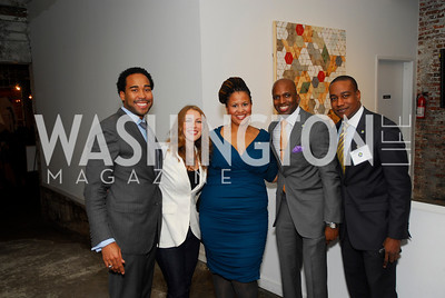 David Johns,Kirsten Lodal,Rael Nelson James,Malik Husser,Joshua Humbert,November 17,2011,Reception for Lift DC,Kyle Samperton