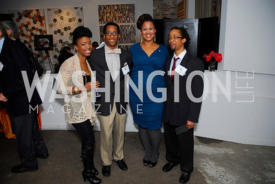 Jessica Francis Dukes,Chris Roberson,Rael Nelson James,Robin Roberson,November 17,2011,Reception for Lift DC,Kyle Samperton