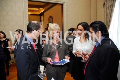 Antonio Ortiz Mena, Sue Cronin, Anna Paula Sanchez, Raul Rangel, Reception in honor of Steven Shindler and Claudio X. Gonzalez Laporte, April 5, 2011, Kyle Samperton