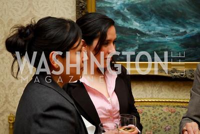Maria Theresa Rodriquez, Amparo Brenton, Reception in honor of Steven Shindler and Claudio X. Gonzalez Laporte, April 5, 2011, Kyle Samperton