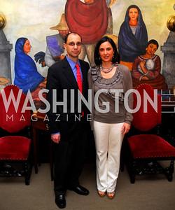 Antonio Ortiz Mena, Mariana Ortiz Mena, Reception in honor of Steven Shindler and Claudio X. Gonzalez Laporte, April 5, 2011, Kyle Samperton