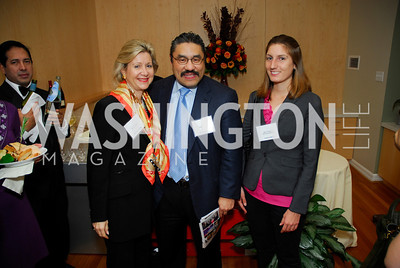 Christie Weiss, Bob Hisaoka, Katie Tomilson, November 16,2011,Reception for Teach for America,Kyle Samperton