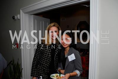 Christine Rales, Helen Traw, November 16,2011,Reception for Teach for America,Kyle Samperton