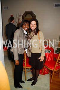 Rea Harrison,Kim Nettles,November 16,2011,Reception for Teach for America,Kyle Samperton