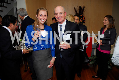 Mallory Dwinal, David Lawson, November 16,2011,Reception for Teach for America,Kyle Samperton