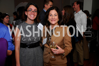 Stephanie Kapsis,Lois Romano,November 16,2011,Reception for Teach for America,Kyle Samperton