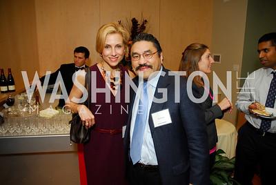 Katherine Bradley, Bob Hisaoka, November 16,2011,Reception for Teach for America,Kyle Samperton