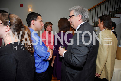 Steve Goernstein,Jeffrey Schragg,November 16,2011,Reception for Teach for America,Kyle Samperton