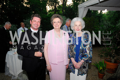 Christopher Worthley,Patricia Dresser,Eileen Yago,Reception for The Order of St.John,June8,2011,Kyle Samperton