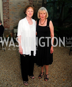 Polly Coreth,Karen Lamb,Reception for The Order of St.John,June8,2011,Kyle Samperton