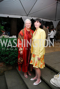 Victoria Sheffield,Lillian Clagett,Reception for The Order of St.John,June8,2011,Kyle Samperton