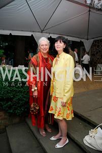 Victoria Sheffield,Lillian Clagett,Reception for The Order of St.John,June8,2011,Kyle Samperton