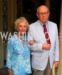 Ruth Buchanan, Don Larabee, Reception for Order of St. John, June 8, 2011, Kyle Samperton
