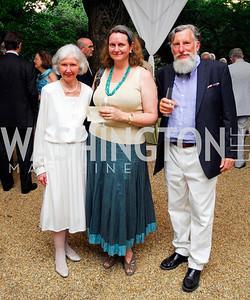 Mary Gardiner,Stephanie McCormick-Goodhart,Leander McCormick-Goodhart,Reception for The Order of St.John,June8,2011,Kyle Samperton