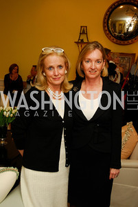 Debbie Dingell,Cathy Isaacson,Reception for Washington Ideas Forum,October 4,2011,Kyle Samperton