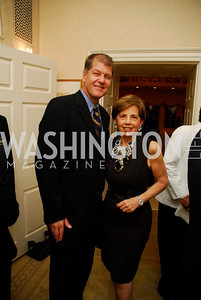 Steve Clemmons,Adrienne Arsht,Reception for Washington Ideas Forum,October 4,2011,Kyle Samperton
