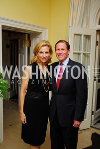 Katherine Bradley,Richard Blumenthal,Reception for Washington Ideas Forum,October 4,2011,Kyle Samperton