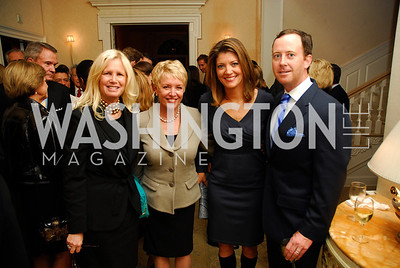 Susan Blumenthal,Linda Douglass,Norah O'Donnell,Geoff Tracy,Reception for Washington Ideas Forum,October 4,2011,Kyle Samperton
