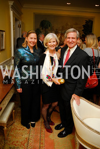 Susan Carter,Alana Glass,Sherman Glass,Reception for Washington Ideas Forum,October 4,2011,Kyle Samperton