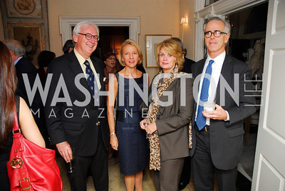 John Fox Sullivan,Elizabeth Keefer,Anne Finucane,James Mahoney,Reception for Washington Ideas Forum,October 4,2011,Kyle Samperton