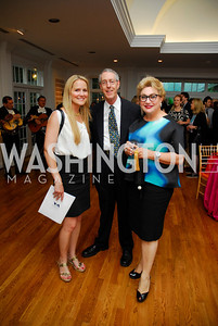 Alexa Chopivsky, John Waterston, Hilda Brillembourg, Reception for YOA Orchestra of the Americas, June 8, 2011, Kyle Samperton