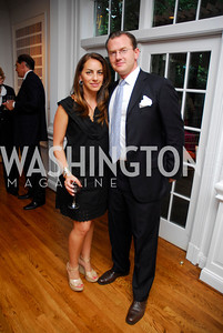 Jessica Lang, Adam Lovinger, Reception for YOA Orchestra of the Americas, June 8, 2011, Kyle Samperton