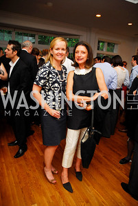 Lilly Stevens Becker, Aniko Gaal Schott, Reception for YOA Orchestra of the Americas, June 8, 2011, Kyle Samperton